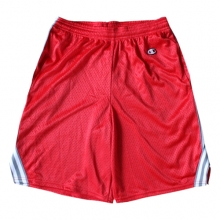 Lacrosse Shorts - Red/Grey