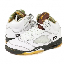 Air Jordan 5 V RETRO Dark Army Delsol [136027-121]
