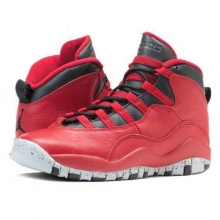 Air Jordan 10 Retro 30th 리버티 레드 GS [705179-601]