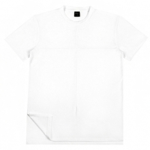 Side Tee - White