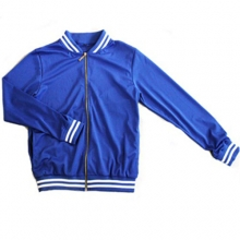 Mesh Stadium Jacket - Blue