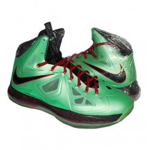 [270] Nike Lebron X China Edition Cutting Jade [541100-303]