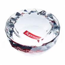 Supreme Diamond Cut Crystal Ashtray