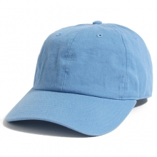 Brushed Cotten 6 Panel cap - Carolina Blue