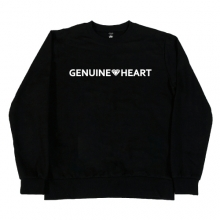 Gt. heart logo M.T.M - Black