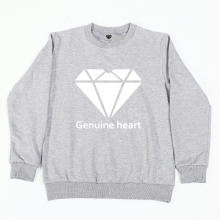 Diamond heart logo M.T.M - Grey