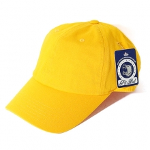 Cotton Baseball Cap - Yellow