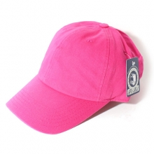 Cotton Baseball Cap - Hotpink