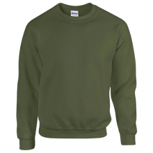 Classic Fit Adult Crewneck Sweatshirt - Military Green
