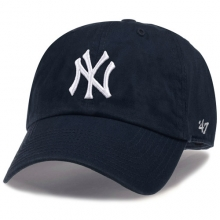 New York Yankees Clean Up Baseball Cap - Navy
