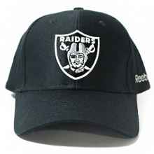 LA Raiders Basic Logo Basball Cap - Black