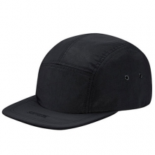Visor Logo Camp Cap - Black
