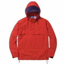 Taped Seam Pullover Jacket - Red
