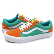 Old Skool Pro Golf Wang - Orange Blue Green