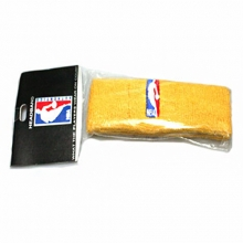 NBA Logo Man Headband - Yellow