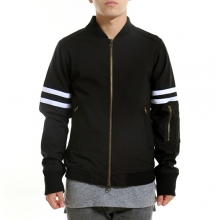 Fearless Bomber Jacket - Black