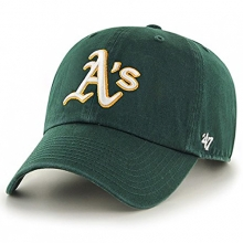 Oakland Athletics Clean Up Baseball Cap - Green