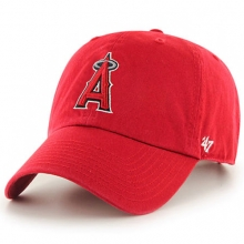 Los Angeles Angels Clean Up Baseball Cap - Red