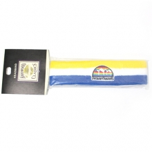 Denver Nuggets Headband - Yellow/White/Blue