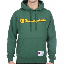 Retro Graphic Pullover Hoodie - Gator Green