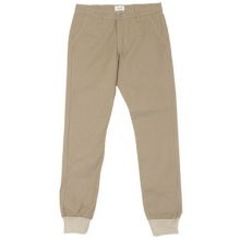 Twill Light Beige jogger pants