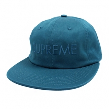 Tonal Logo 6 Panel Cap  - Teal