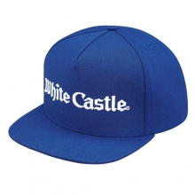 White Castle 5 Panel Snapback - Royal