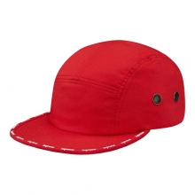 Visor Taped Camp Cap - Red