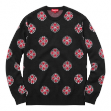 Independent Crosses Sweater - Black