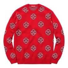 Independent Crosses Sweater - Red