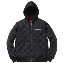 Independent Quilted Nylon Jacket - Black
