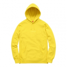 Tonal Embroidered Hooded - Yellow