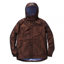 Iridescent Taped Seam Jaket - Brown