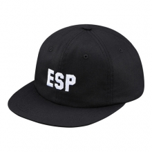 Esp 6 Panel Cap - Black