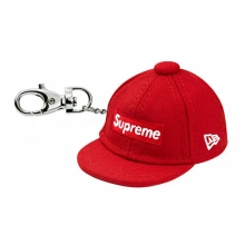 Mini Letter Logo Keychain - Red