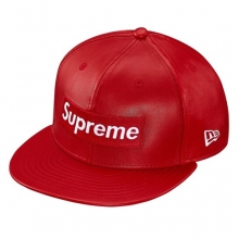 Leather Box Logo Newera - Red