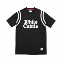 White Catle Football Top - Black