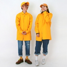 3 Color Lettering Shirt - Yellow