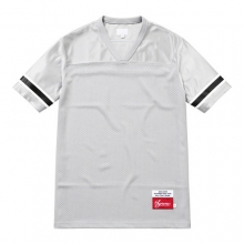 Blank Football Top - Grey