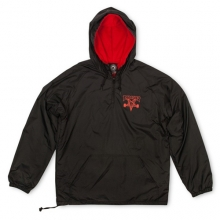 Skate Goat Coach Hood - Black/Red