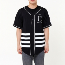 League Baseball Jersey - Black