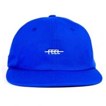 Feel Logo Strapback - Blue