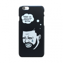 No Bling iPhone 6 Case - Black