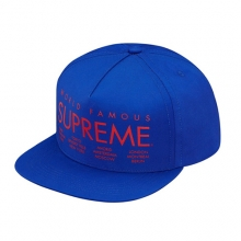 International 5 Panel Snapback - Royal