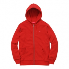 Small Box Themal Zip Up - Red