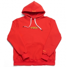 Double Logo Hoodie - Red