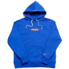Double Logo Hoodie - Blue