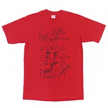 Lee Scratch Perry Fassorted Short Tee - Red