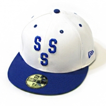 Supreme X New Era Triple S Cap - White/Blue