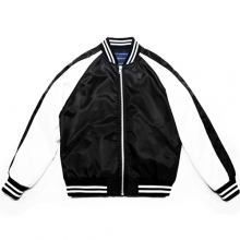 Satin BW Jacket - Black/White